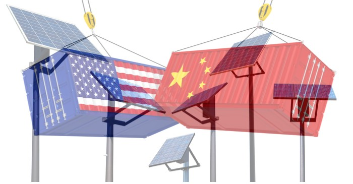 Impact of trade war on US and China solar panel business