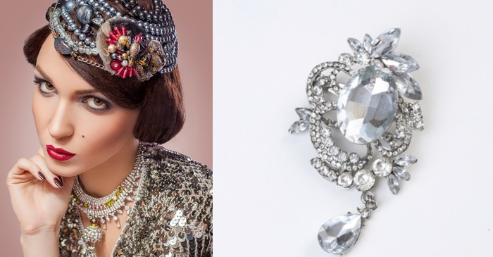 Vintage jewelery value influenced by the 'Retro' factors