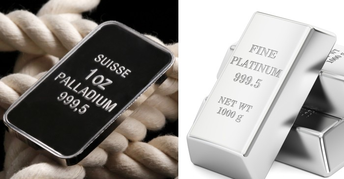 Palladium and platinum regain after declining amidst market pressures