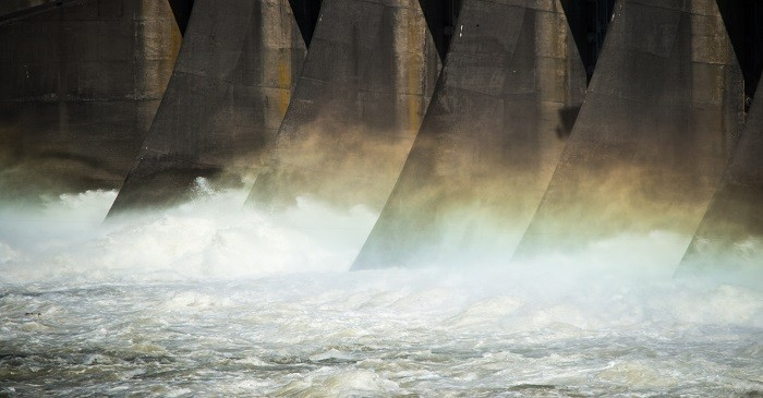 Dependency on hydroelectric energy declining