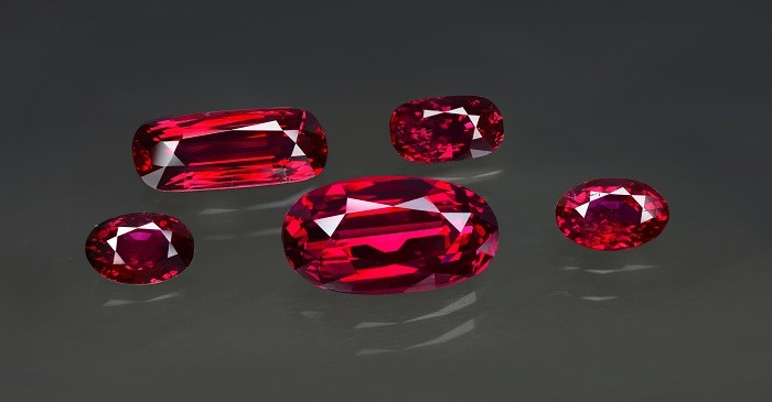 Classy and rarest pigeon blood rubies