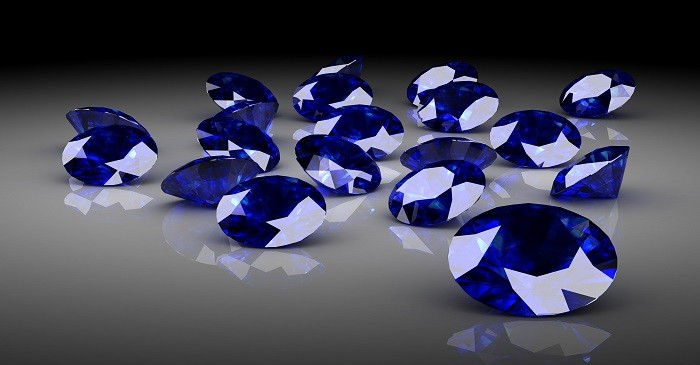 Investment in rare blue sapphires