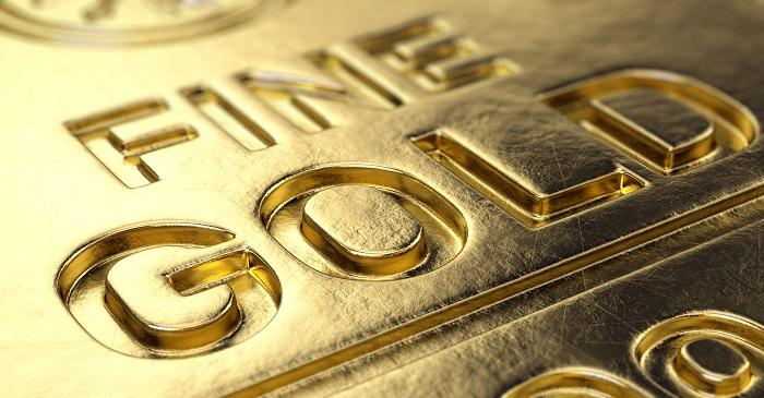 Gold gained and global equities fell by more than 1 per cent in Oct. first week