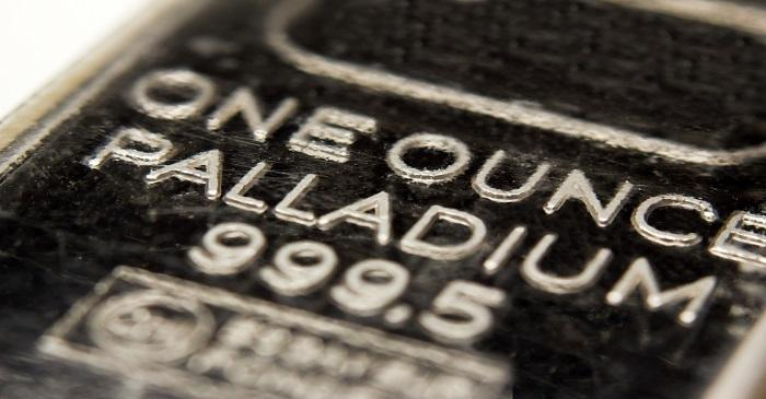 Palladium hits new records, share markets down