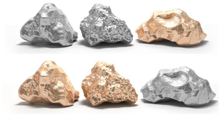 Gold, Silver, Copper, Palladium and BTC
