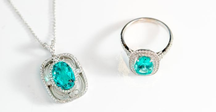 The new shades of oceanic blue-green lava in Paraiba Tourmaline