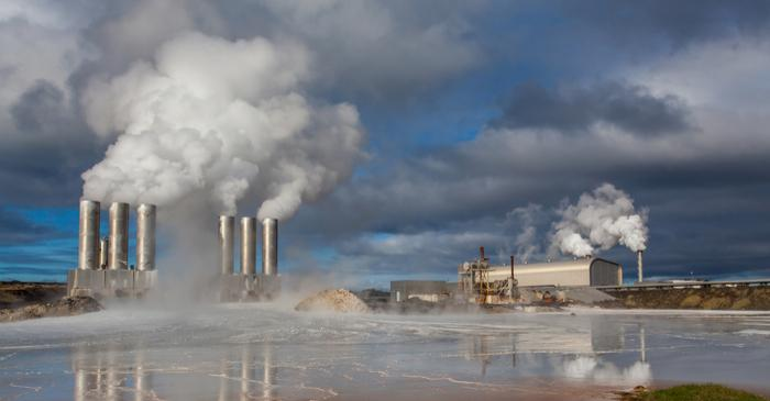 Global Geothermal production decline in 2018