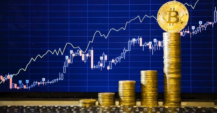 bitcoin price shots up