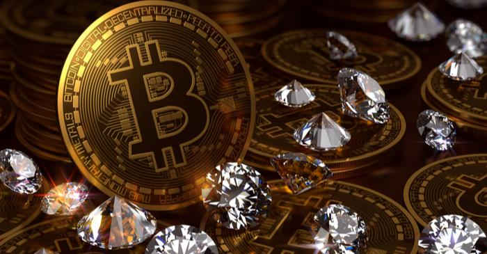 diamond vs bitcoin