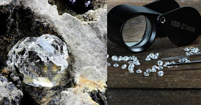 Diamond buyers want to know all about the source and material used