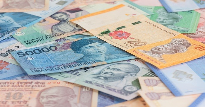 Which country has the lowest currency value
