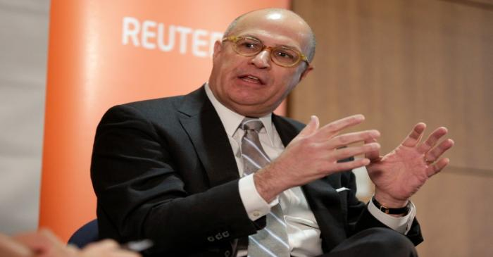 FILE PHOTO:  Commodity Futures Trading Commission (CFTC) Chairman Christopher Giancarlo,