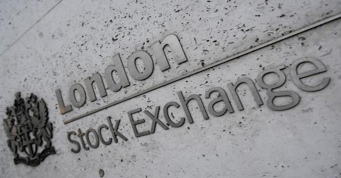 The London Stock Exchange offices in the City of London, Britain