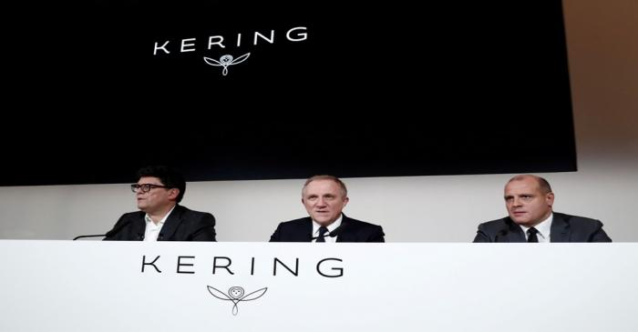 FILE PHOTO: Francois-Henri Pinault, Chairman and CEO of French luxury group Kering, attends the