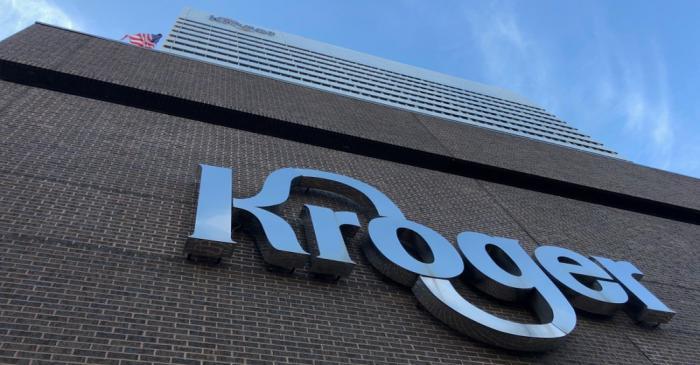 FILE PHOTO: The Kroger supermarket chain's headquarters is shown in Cincinnati