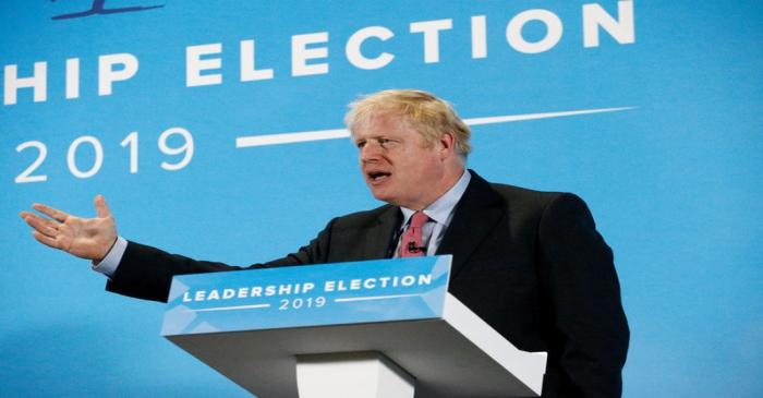 Boris Johnson and Jeremy Hunt take part in Conservative Party leadership hustings in Maidstone