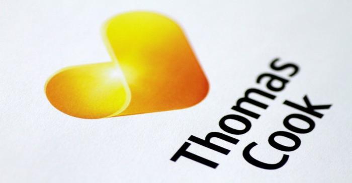 Illustration photo of a Thomas Cook logo