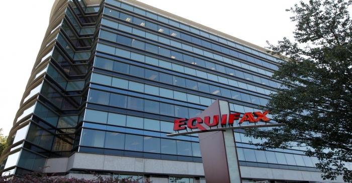 FILE PHOTO: Credit reporting company Equifax Inc. offices are pictured in Atlanta