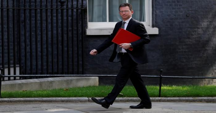 British government's weekly cabinet meeting in London