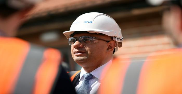 Sajid Javid visit to National Grid training centre