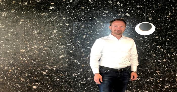 FILE PHOTO: Swedish private equity group EQT CEO Sinding poses for a picture in Stockholm