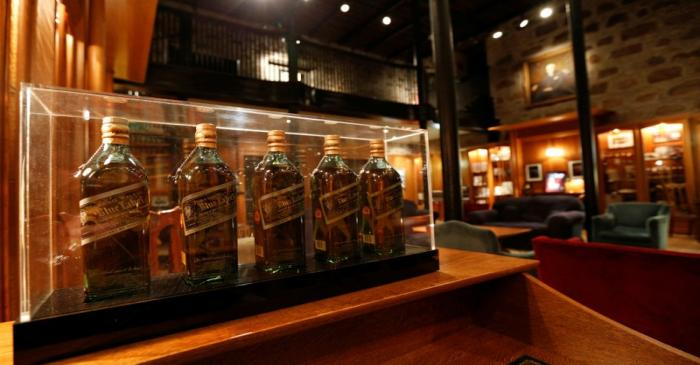 FILE PHOTO: The museum room is seen at the Diageo Cardhu distillery in Scotland, Britain