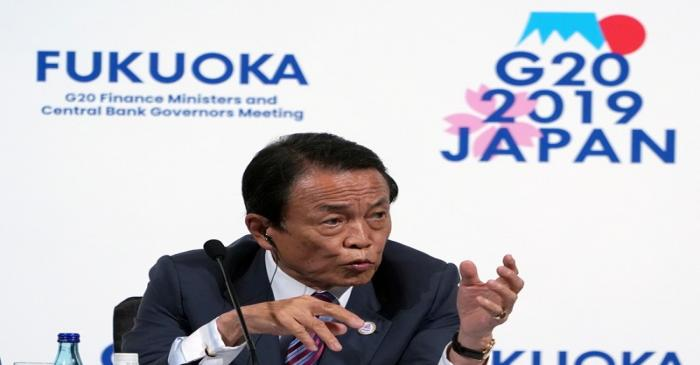 FILE PHOTO: G20 Finance Ministers and Central Bank Governors Meeting in Fukuoka