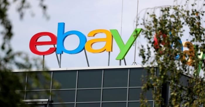 The German headquarters of eBay is pictured at Europarc Dreilinden business park south of