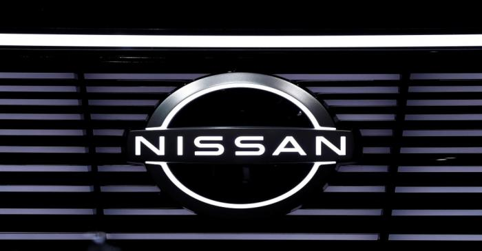 A Nissan logo is pictured at the Tokyo Motor Show, in Tokyo