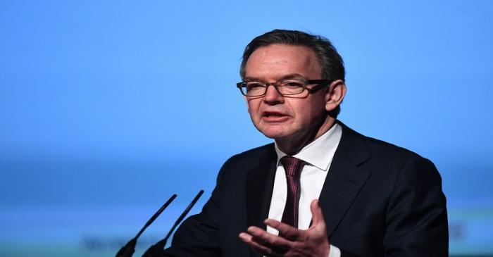 Chair of European Securities and Markets Steven Maijoor speaks at a European Financial Forum
