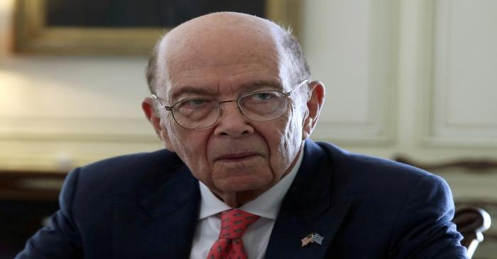 FILE PHOTO: U.S. Commerce Secretary Wilbur Ross meets with Greek Prime Minister Kyriakos