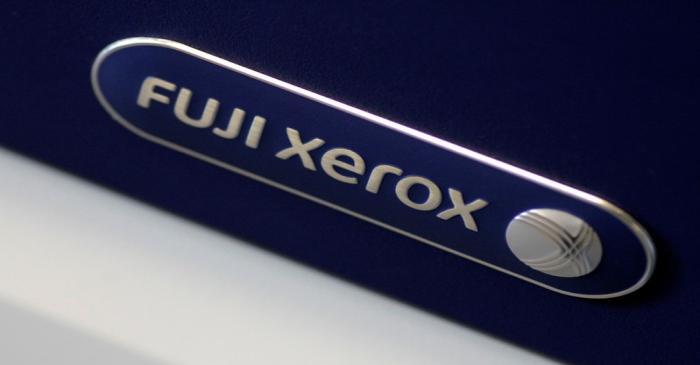 Illustration photo of the Fuji Xerox logo