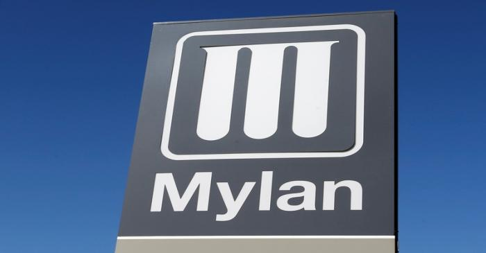 Logo of Mylan Laboratories, a company primarily engaged in the commercialization of generic
