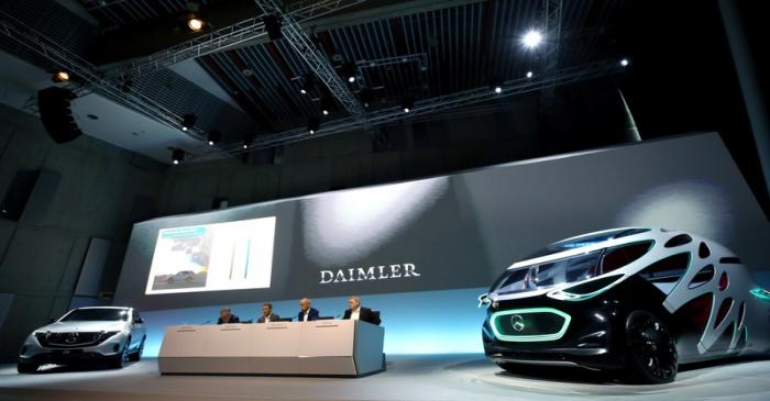 Daimler AG's annual news conference in Stuttgart