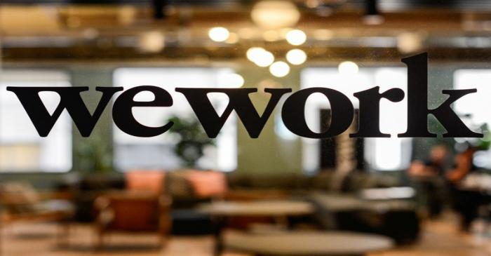 FILE PHOTO: WeWork offices in San Francisco