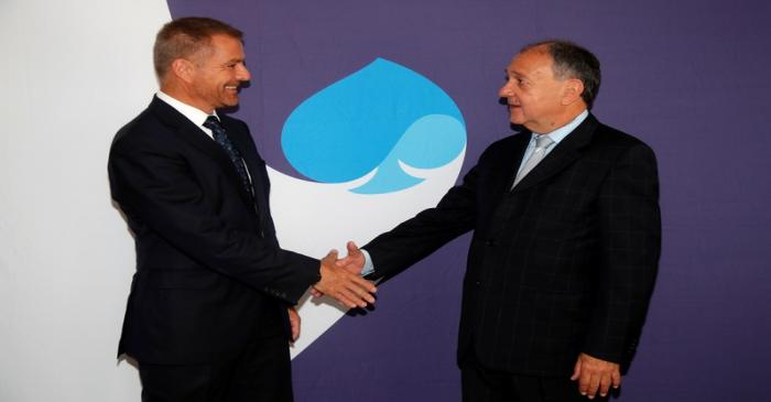 Paul Hermelin, Chairman and CEO of Capgemini, and Dominique Cerutti, Chairman and CEO of