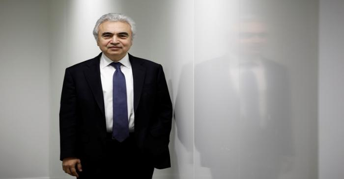 Fatih Birol, Executive Director of the International Energy Agency poses for a portrait at