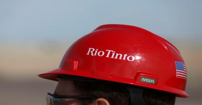 The Rio Tinto mine in Boron, California