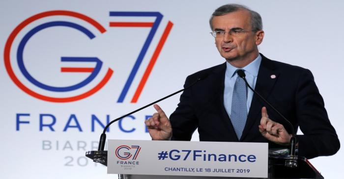 The G7 Finance ministers and central bank governors meeting in Chantilly