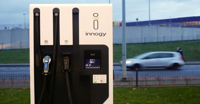 Germany opens first solar-powered fast car charging park with battery backup in Duisburg