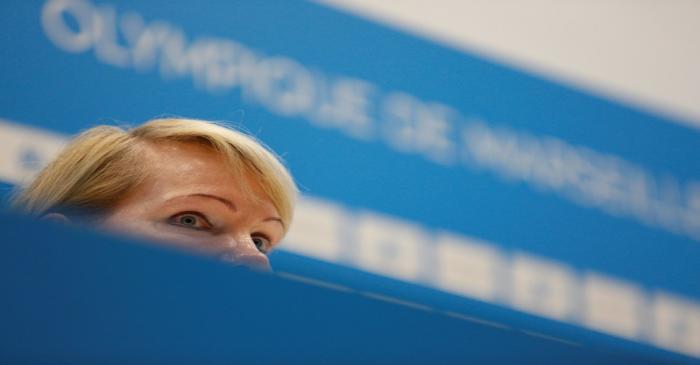 FILE PHOTO: Olympique de Marseille's majority owner, billionaire businesswoman Margarita