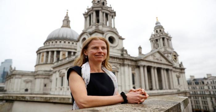 Natasha Landell-Mills, head of stewardship at Sarasin & Partners, poses for a photograph at