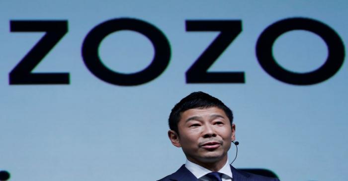 FILE PHOTO : Maezawa, the chief executive of Zozo, which operates Japan's popular fashion