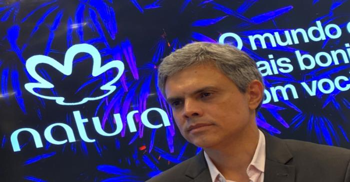 Natura's CEO, Ferreira, attends an interview with Reuters at Natura's headquarters in Sao Paulo