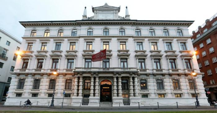 FILE PHOTO: Headquarters of the Italian insurance company Generali are seen in Trieste