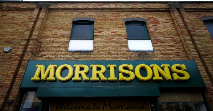 A Morrisons supermarket is seen in south London