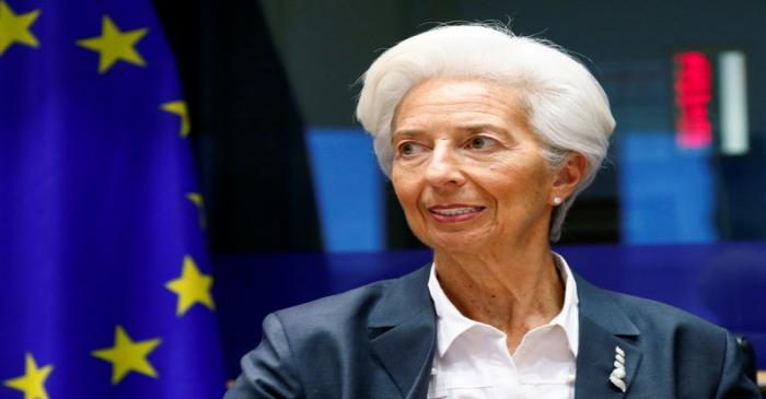 FILE PHOTO: ECB President Lagarde testifies before the EU Parliament's Economic and Monetary