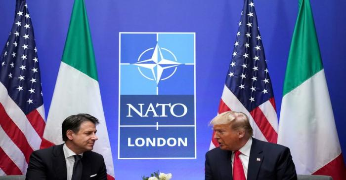 FILE PHOTO: NATO Alliance summit in Watford