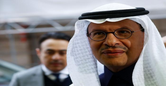 Saudi Arabia's Minister of Energy Prince Abdulaziz bin Salman Al-Saud arrives at the OPEC