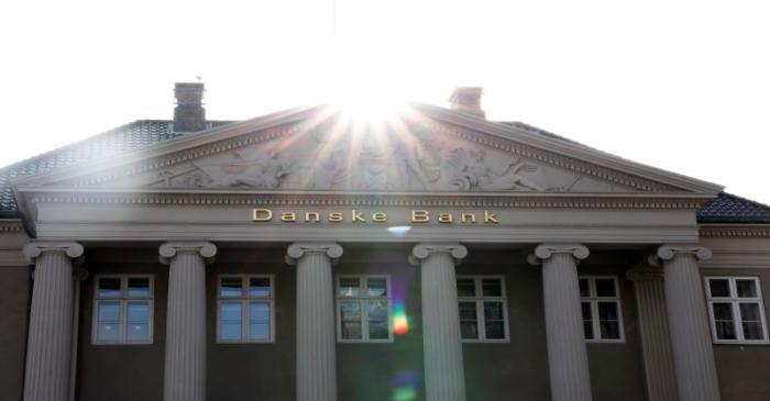 A view of the Danske bank headquarters in Copenhagen